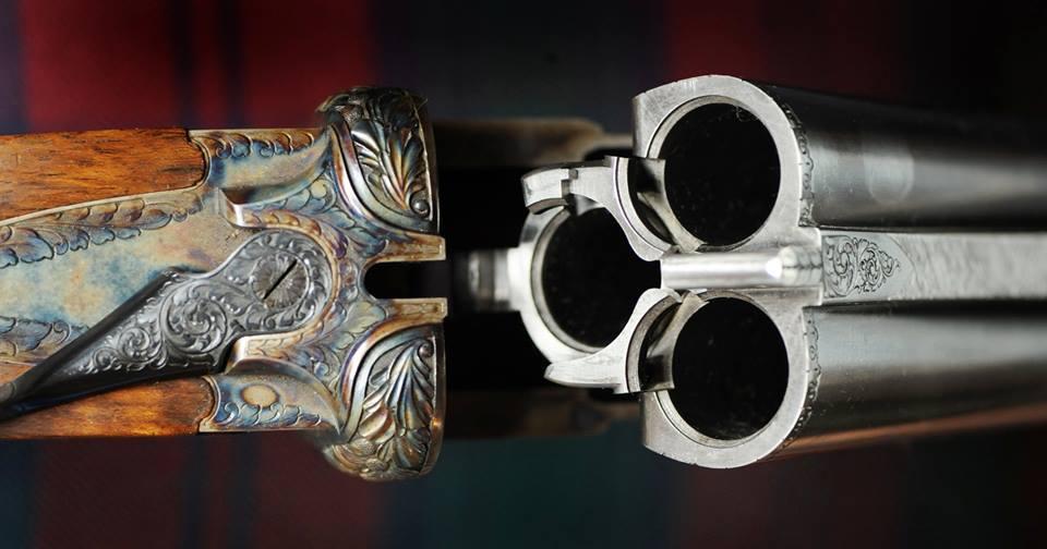 MacFarlaine Triple Barrel Ten Bore. Made in England. ~